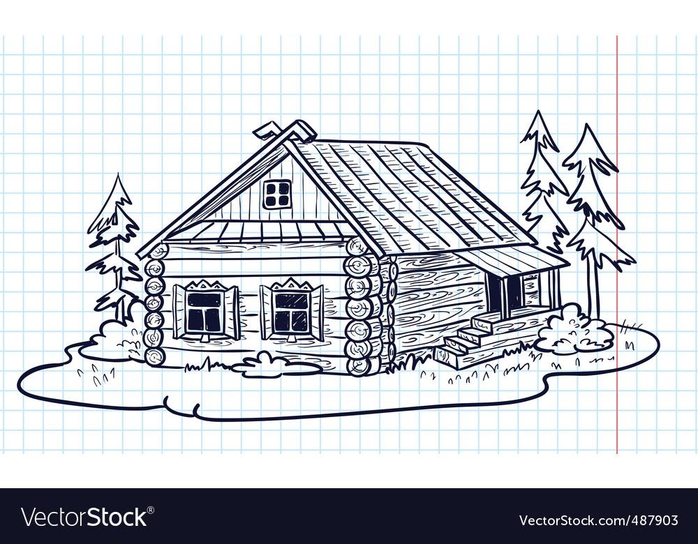 Russian hut