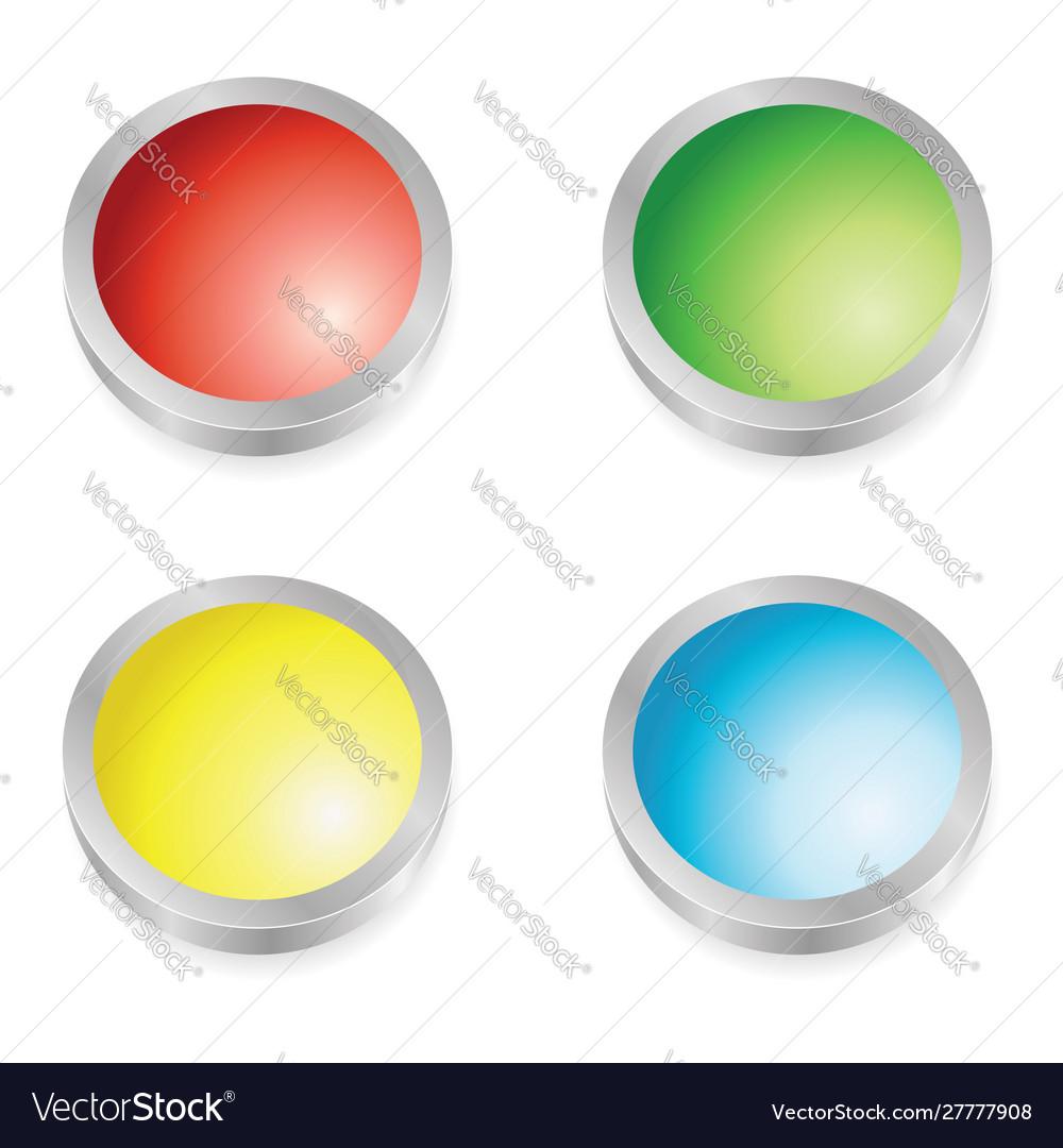 Web buttons colors