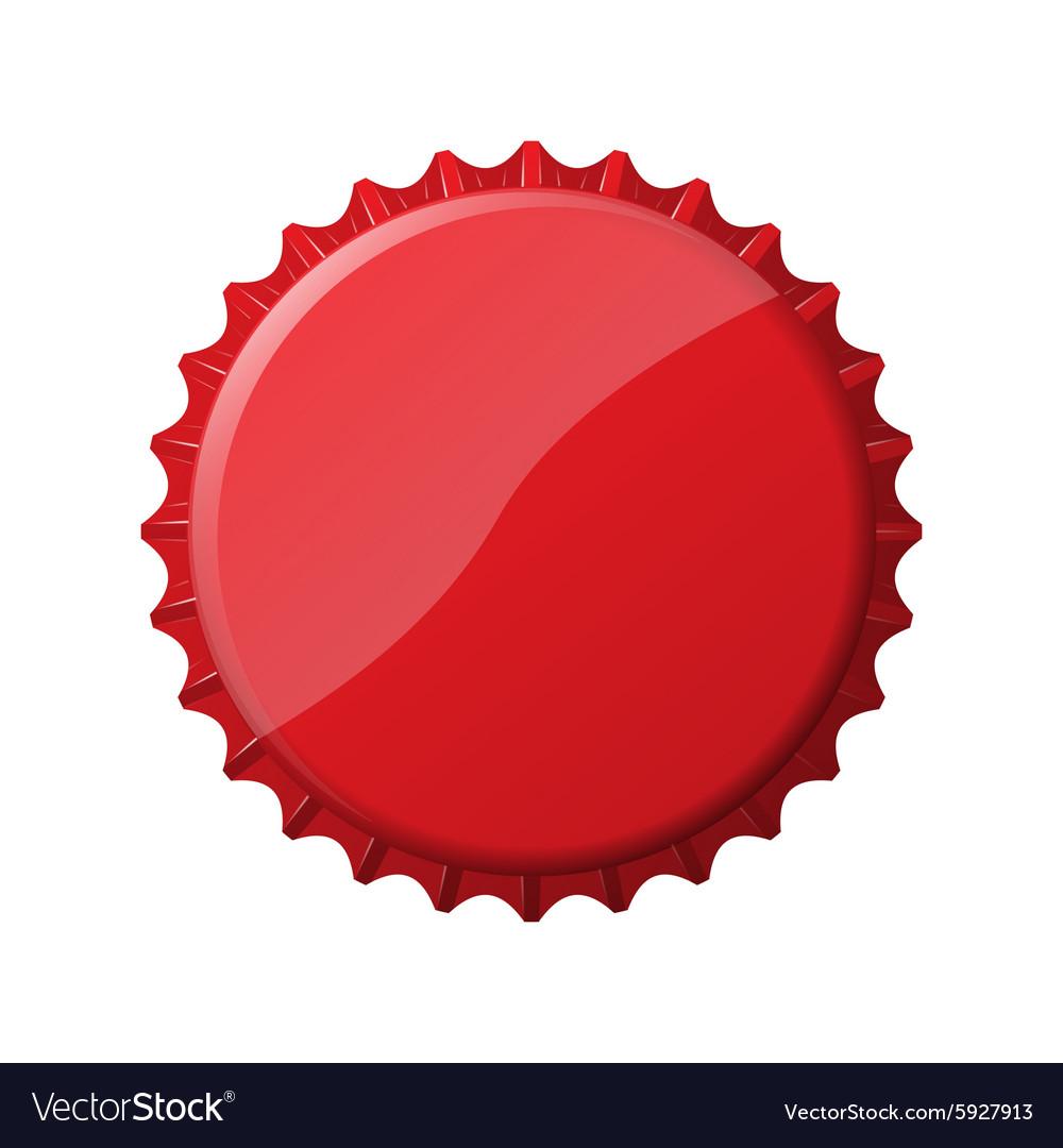 Red bottle cap