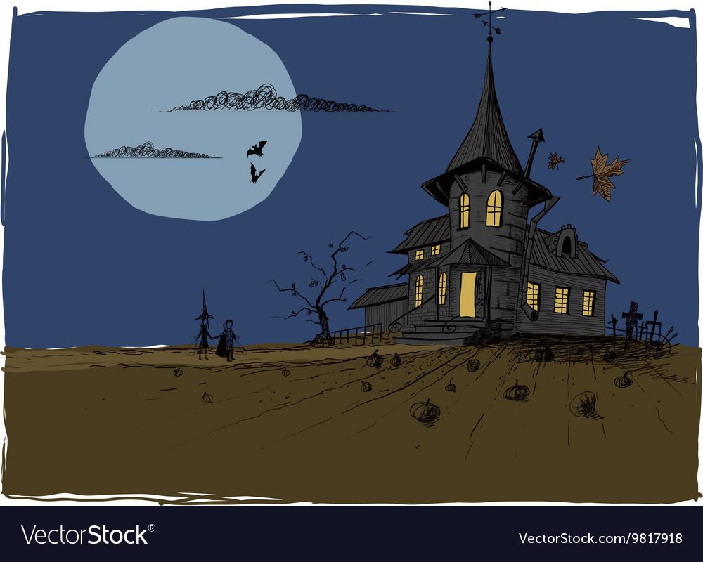 Scarry Halloween House