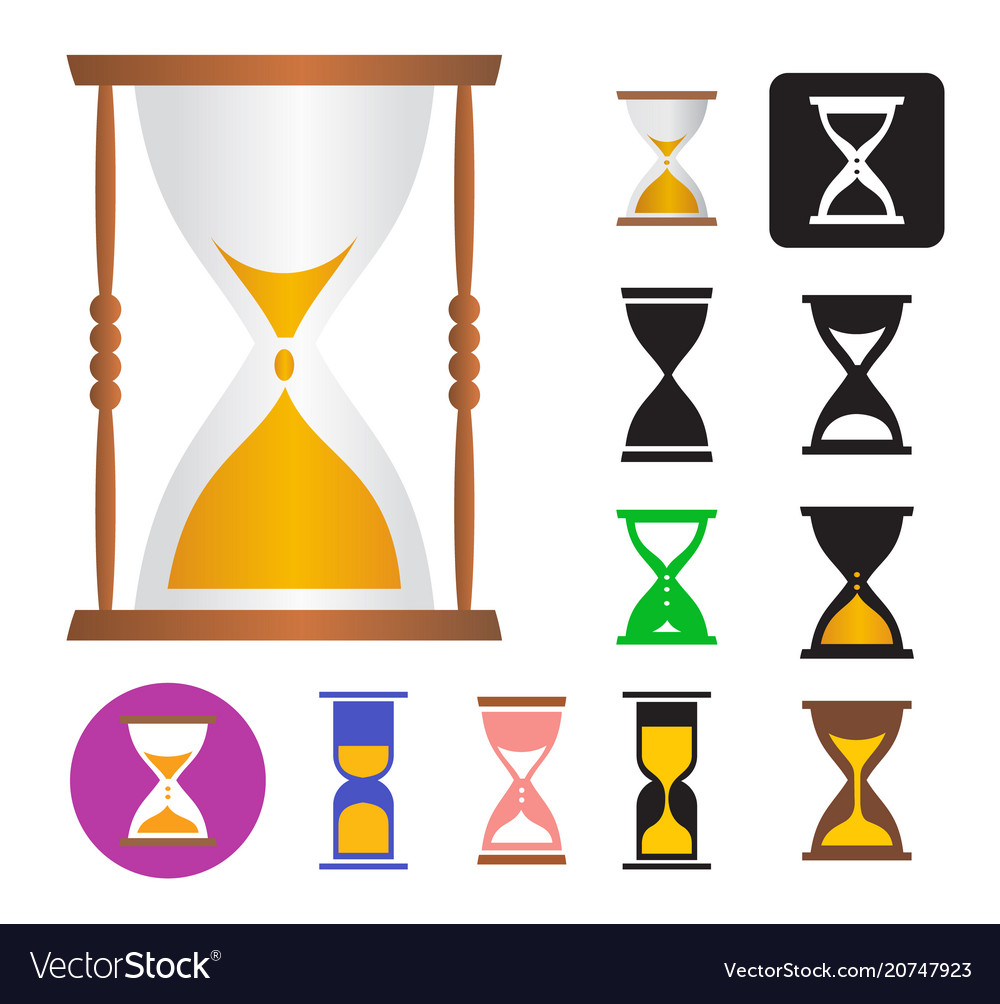 Set of of an hourglass