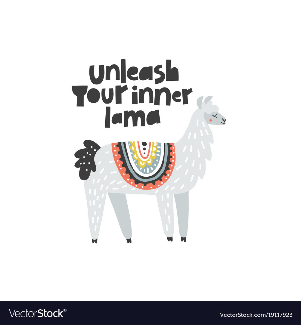 Unleash your inner lama