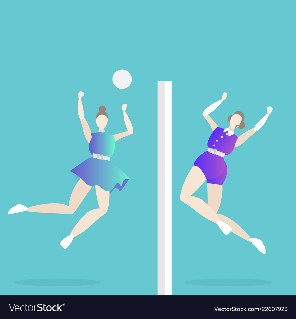Volleyball game female