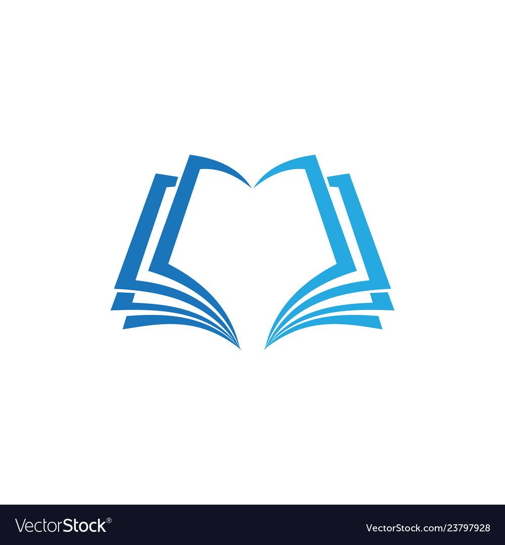 Book education business logo