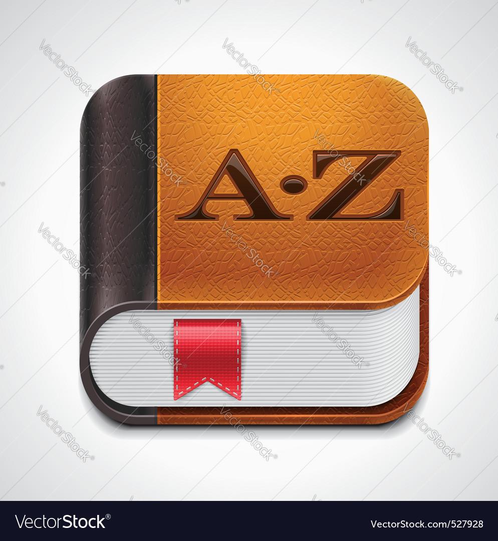 Book with bookmark xxl icon
