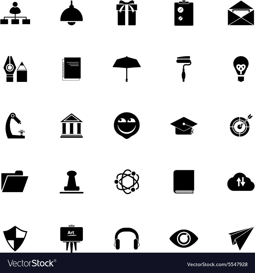 Icons For Resume.Job Resume Icons On White Background