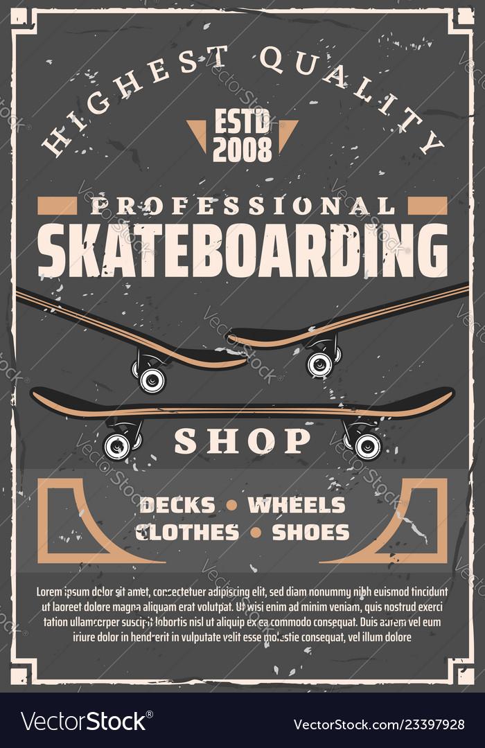 Skateboards decks and wheels skateboarding sport