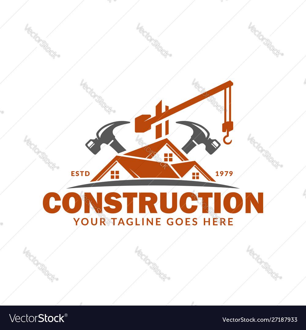 Construction Logo Design Template Suitable Vector Image,Fractal Design Define S2 Custom Loop