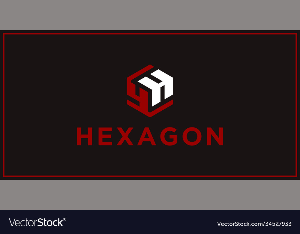 Yh hexagon logo design inspiration