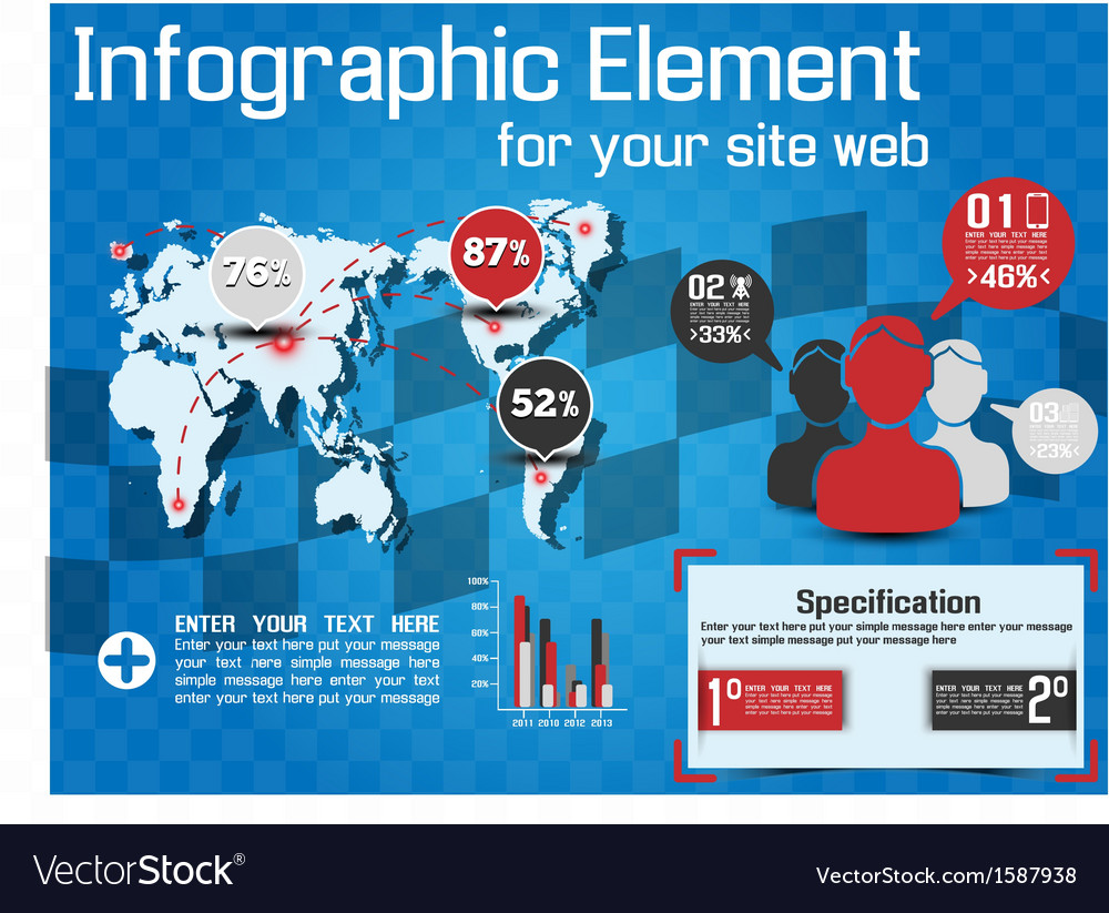 INFOGRAPHIC MODERN STYLE WEB ELEMENT