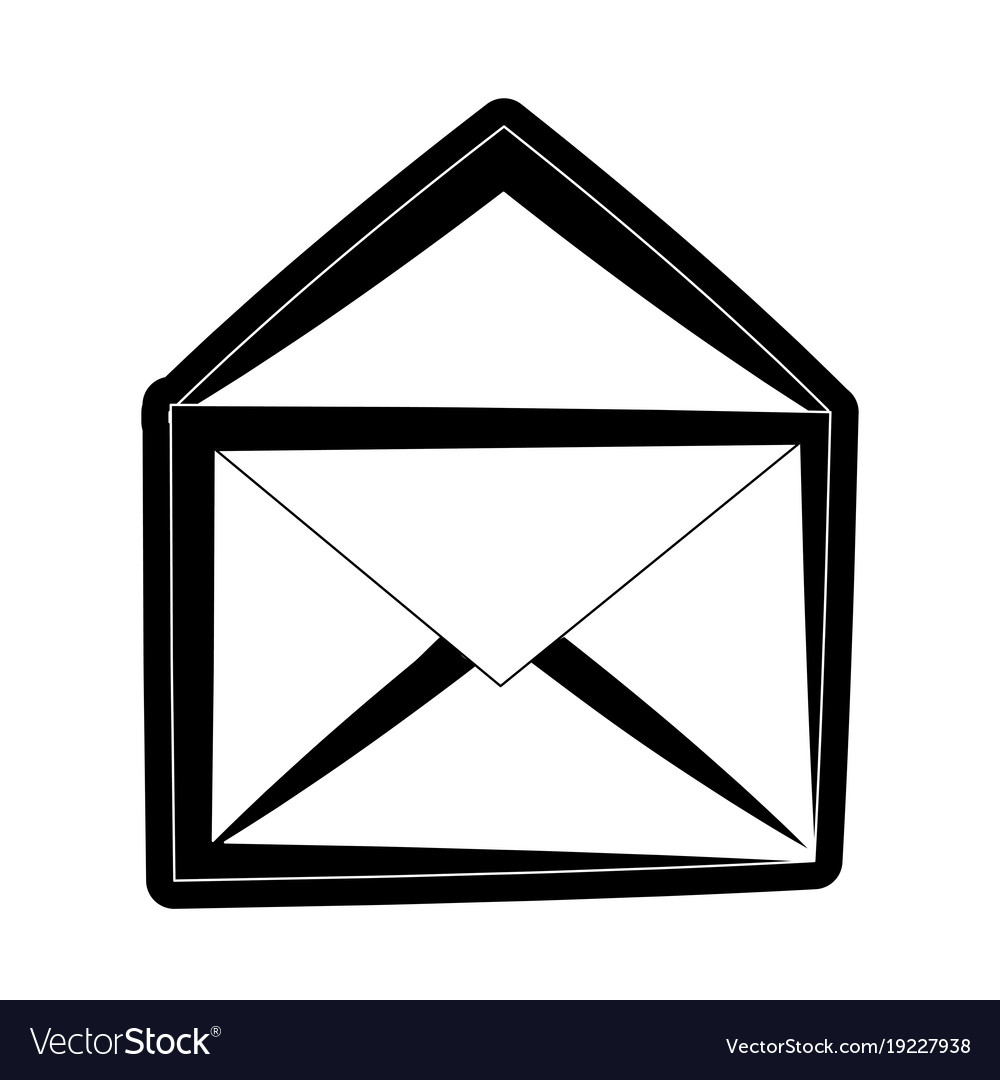 Mail Or Email Symbol Royalty Free Vector Image