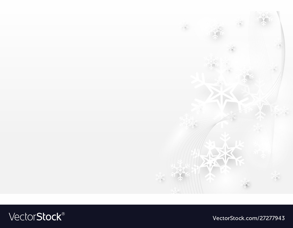 Abstract white snowflake sparkle light background