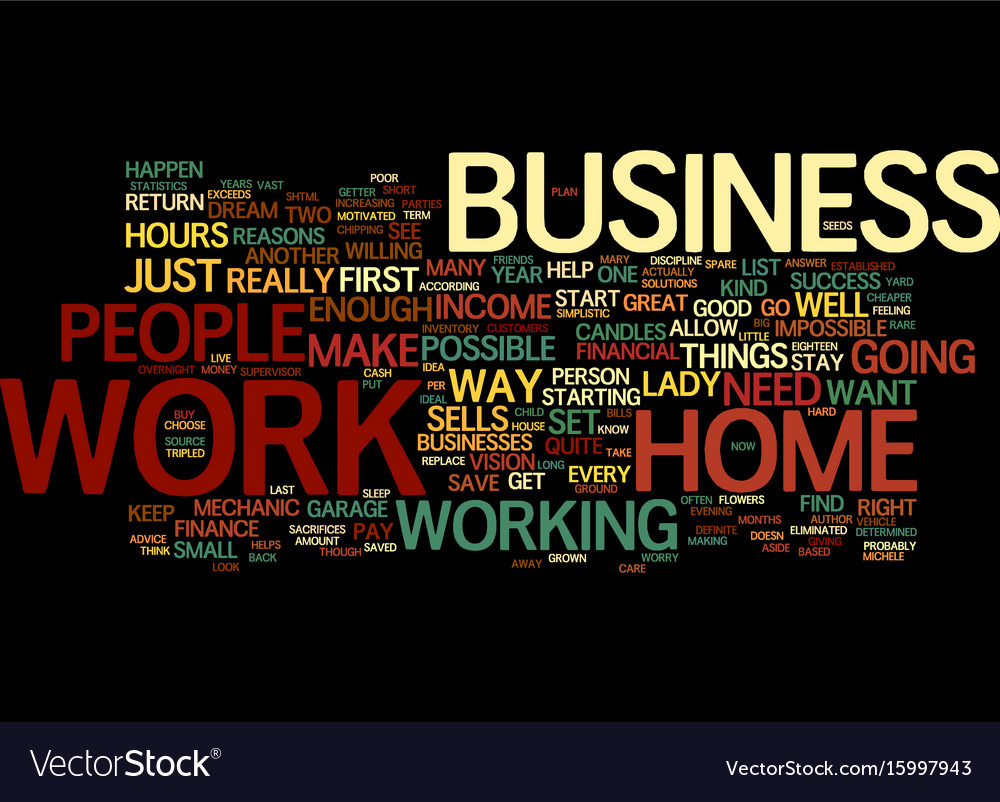 Are you scared to start a home based business