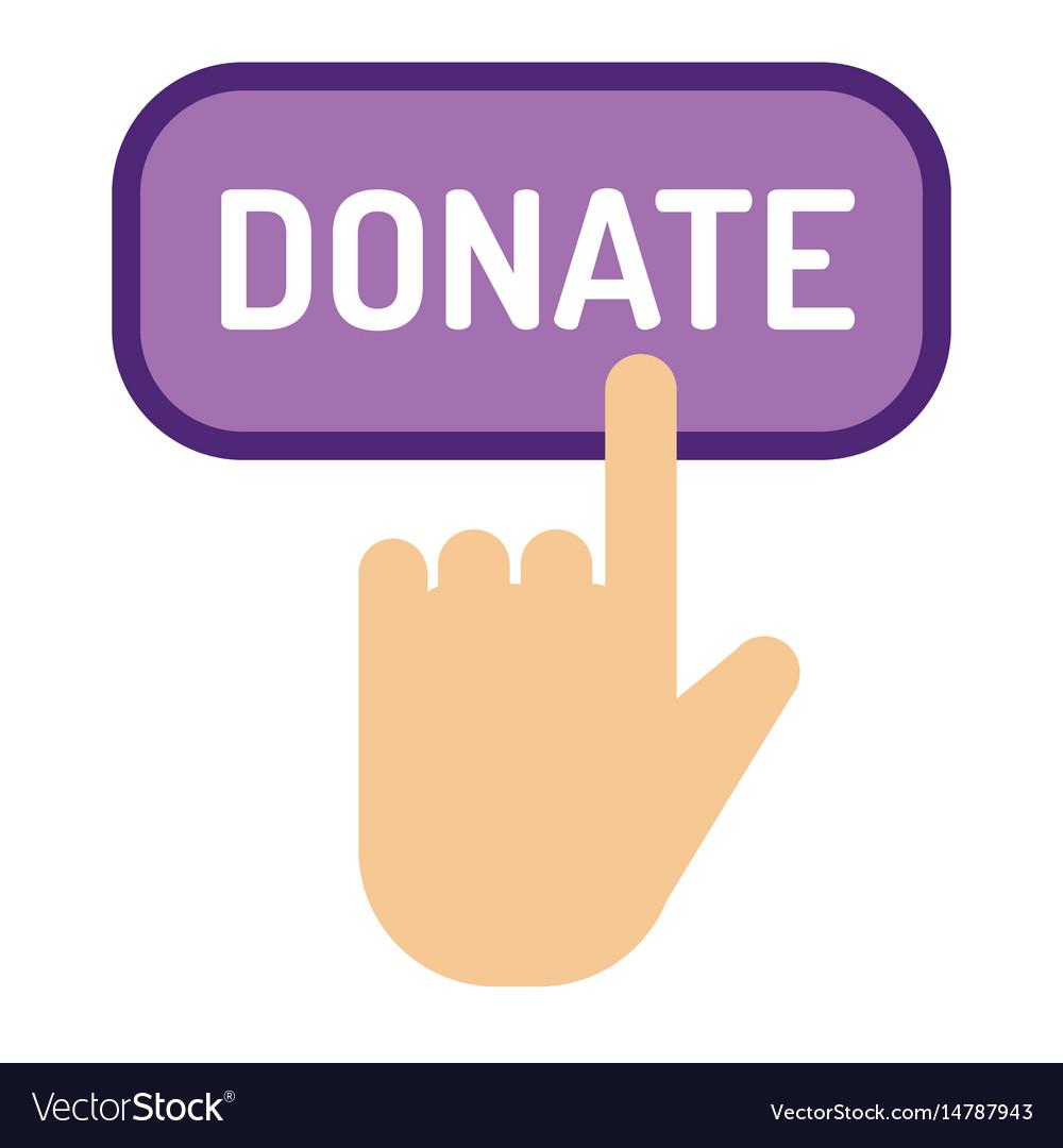 Donate button help icon
