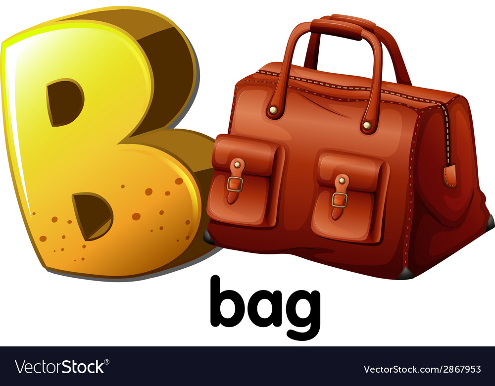 A Letter B For Bag