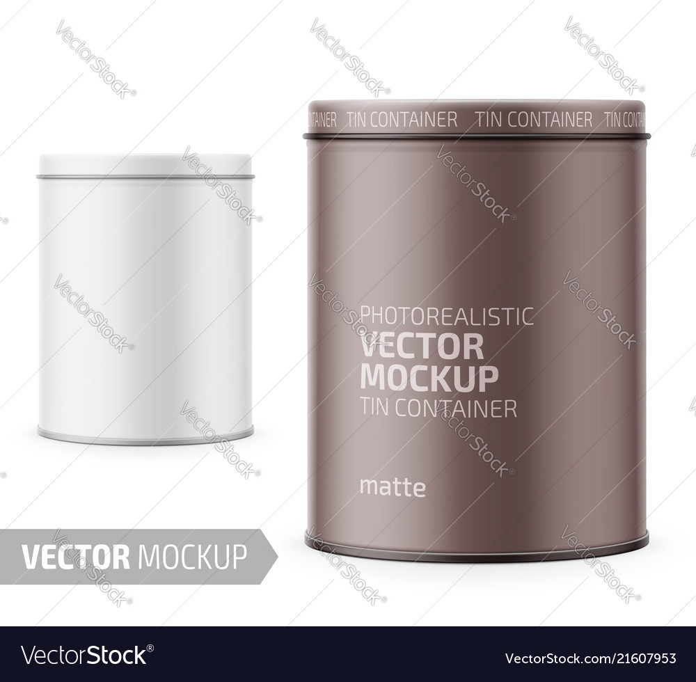 White yogurt pot template with sample design