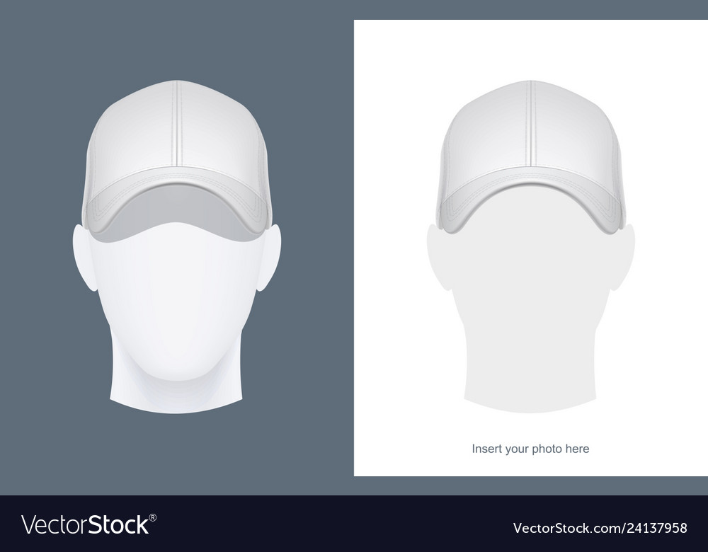 Baseball cap at head