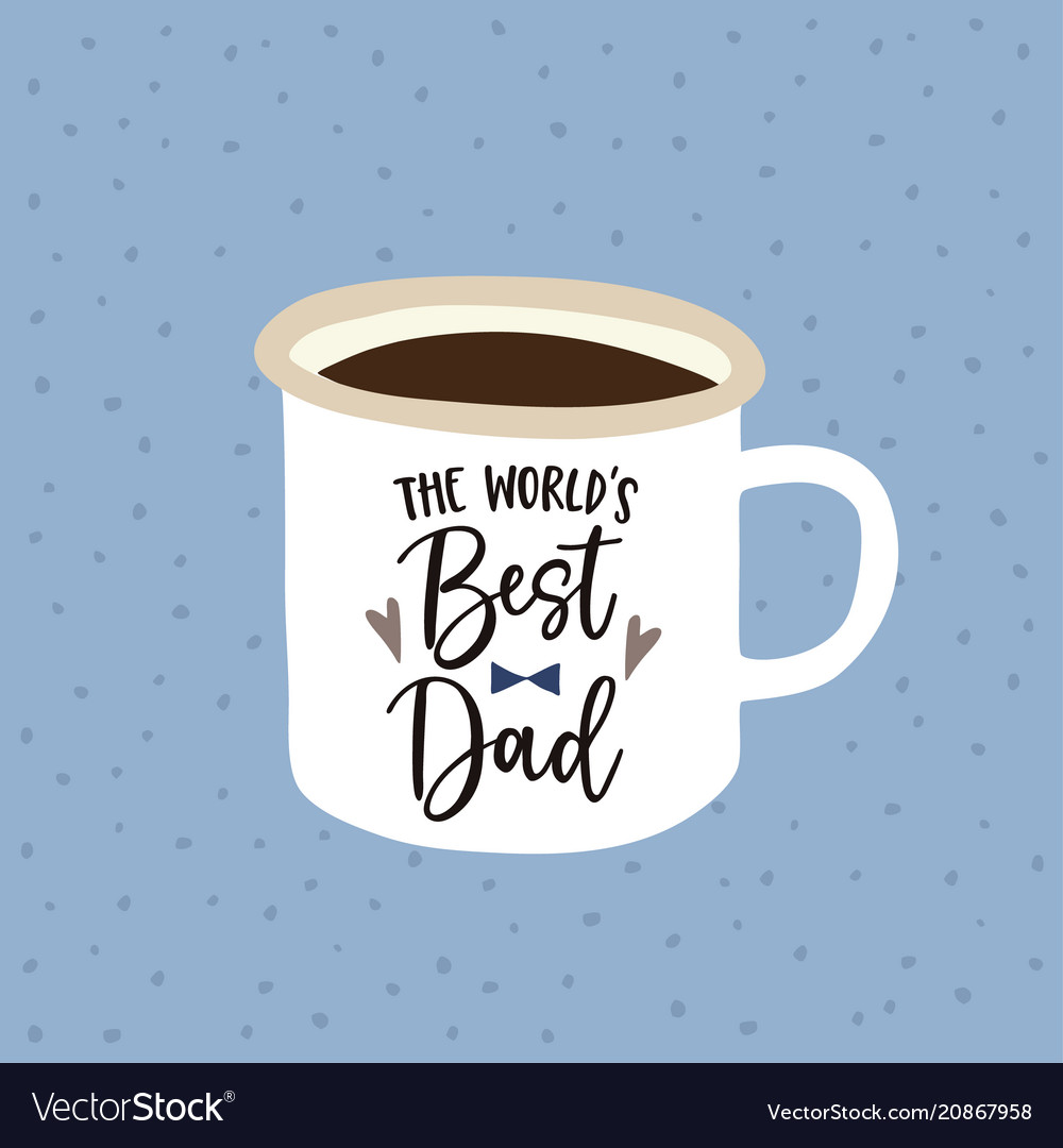 Birthday or fathers day greeting card invitation