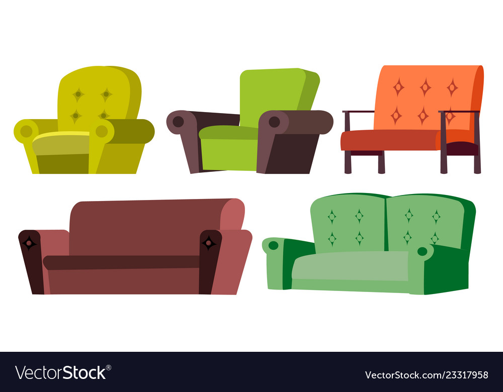 Sofa chair set home furniture living