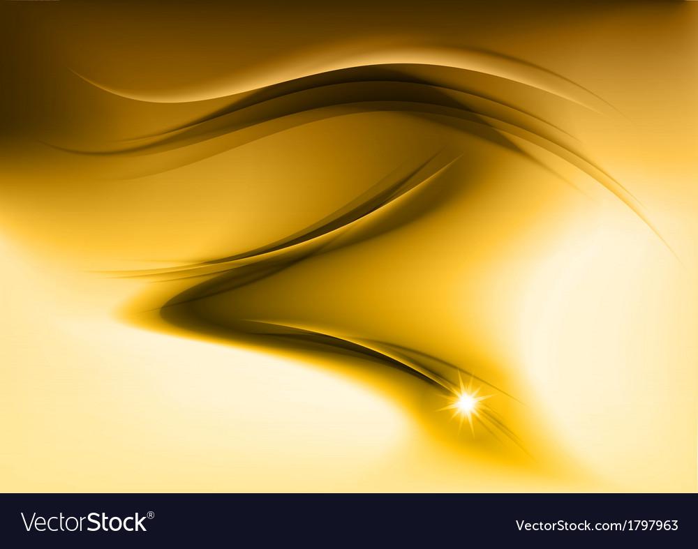 Abstract smoke gold