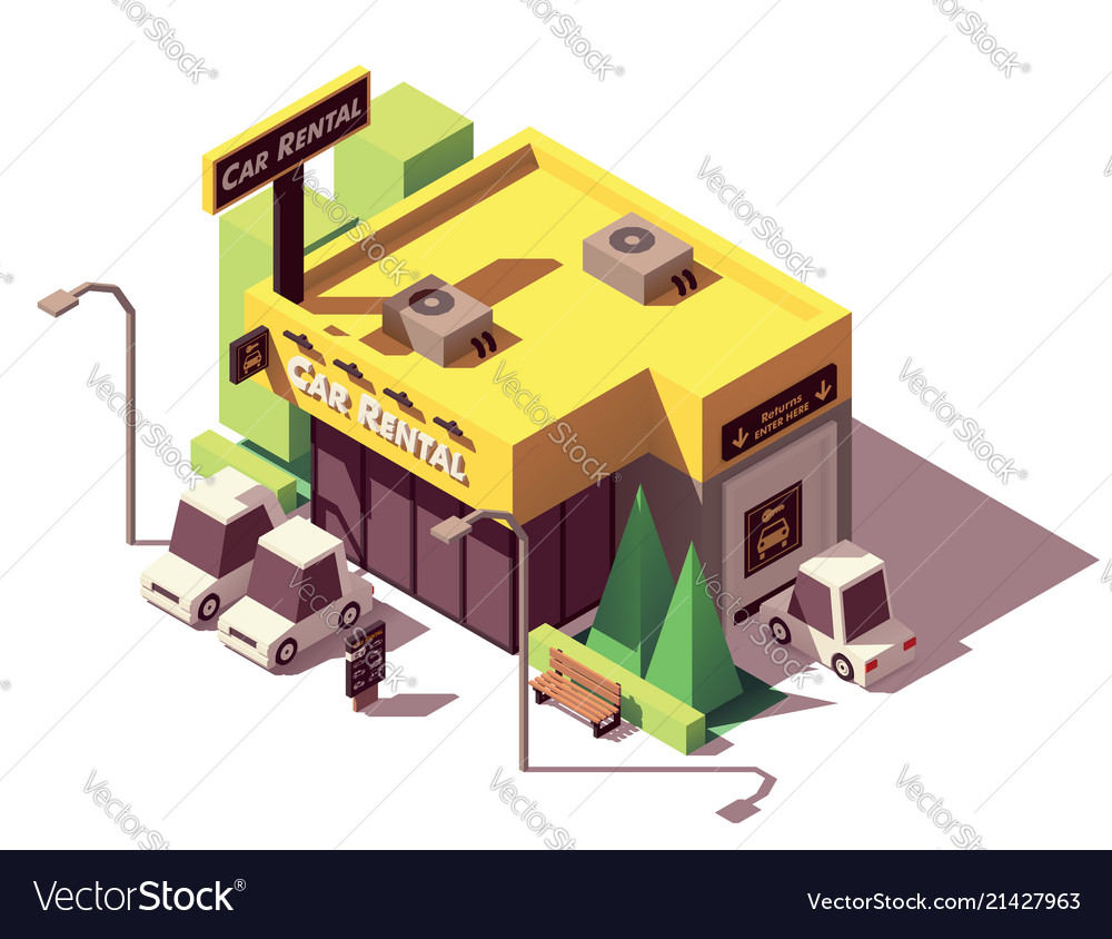 Car Rental Office Design