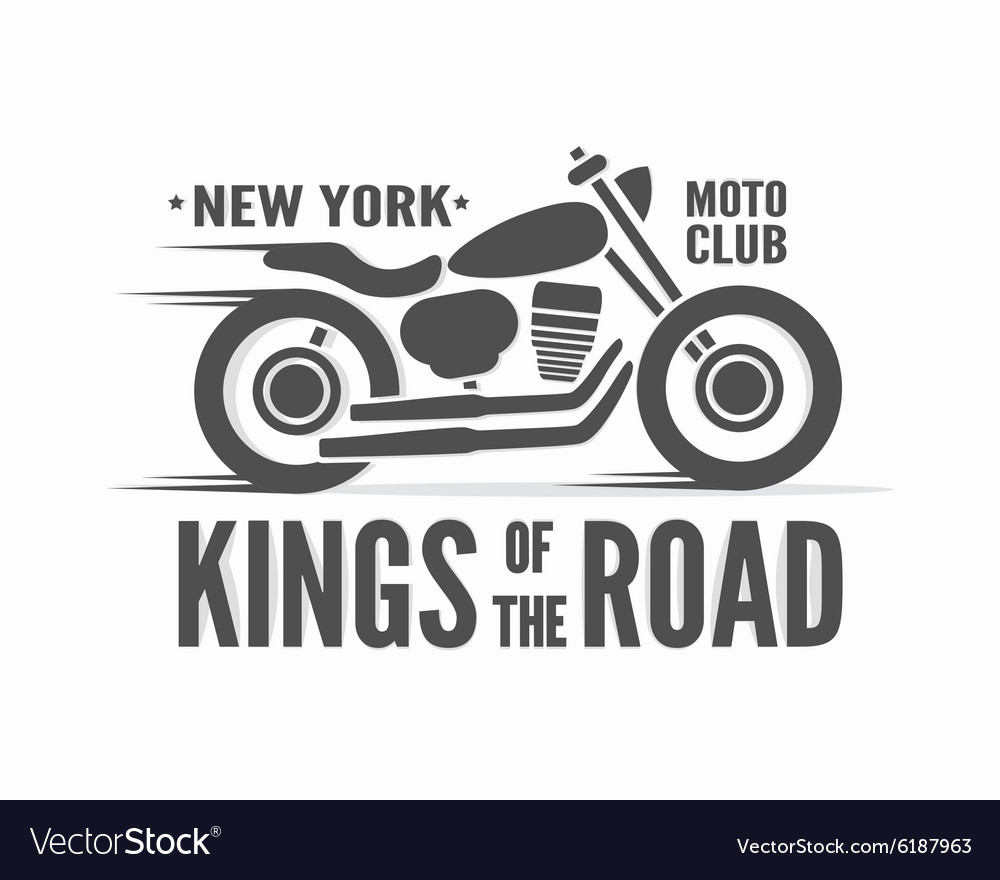 Kings of the Road typographic poster