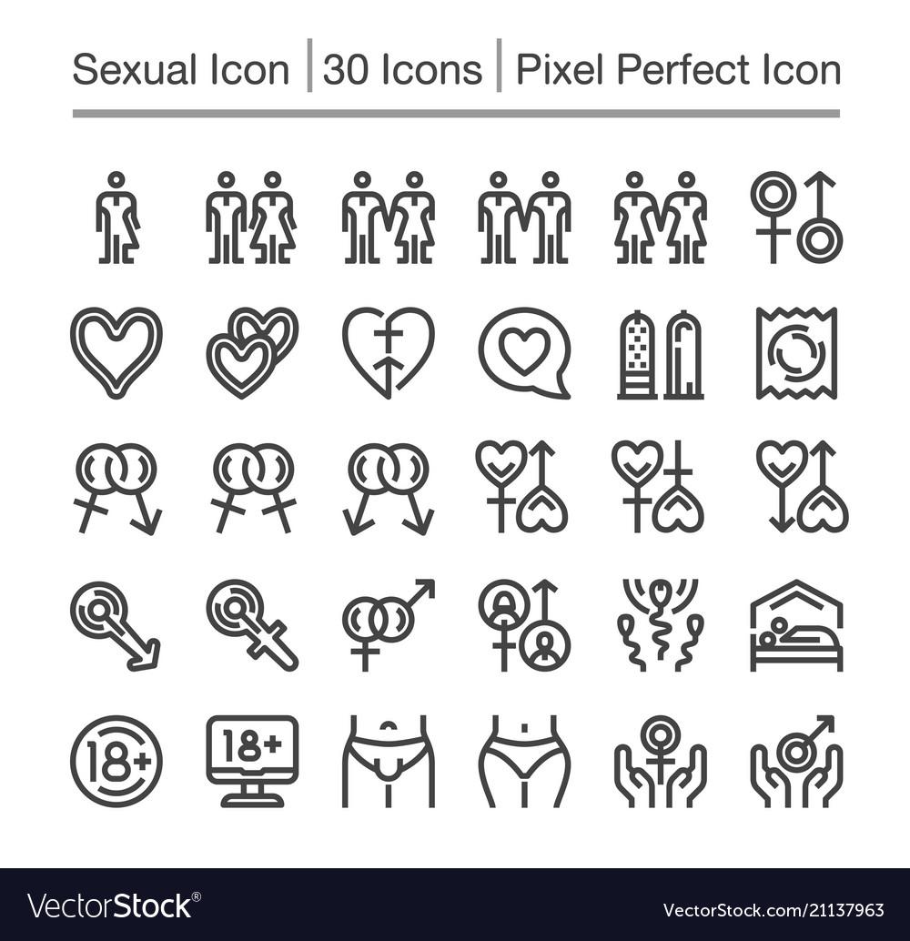 Sex line icon