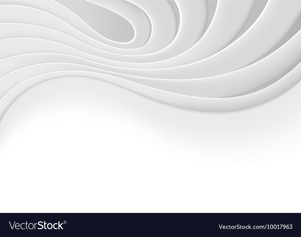 White Technology Background vector image