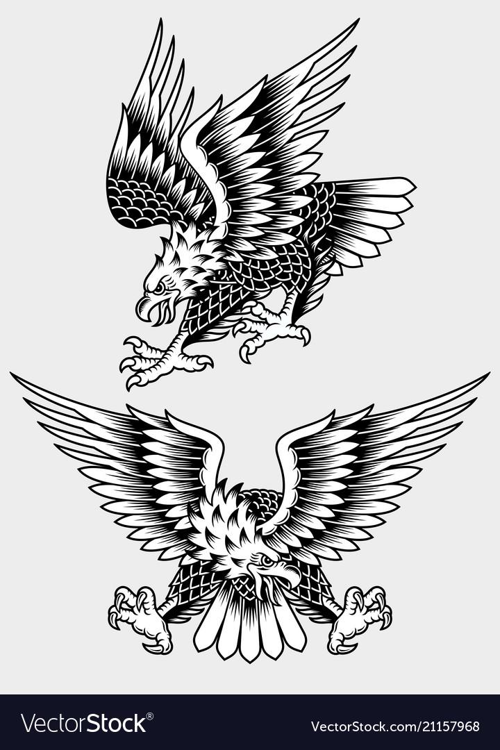 American Screaming Eagle Tattoo