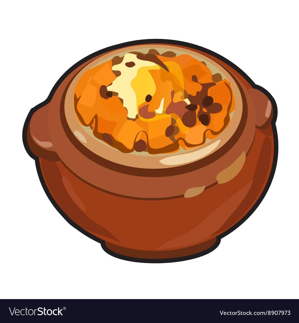 On the theme of pumpkin vector image