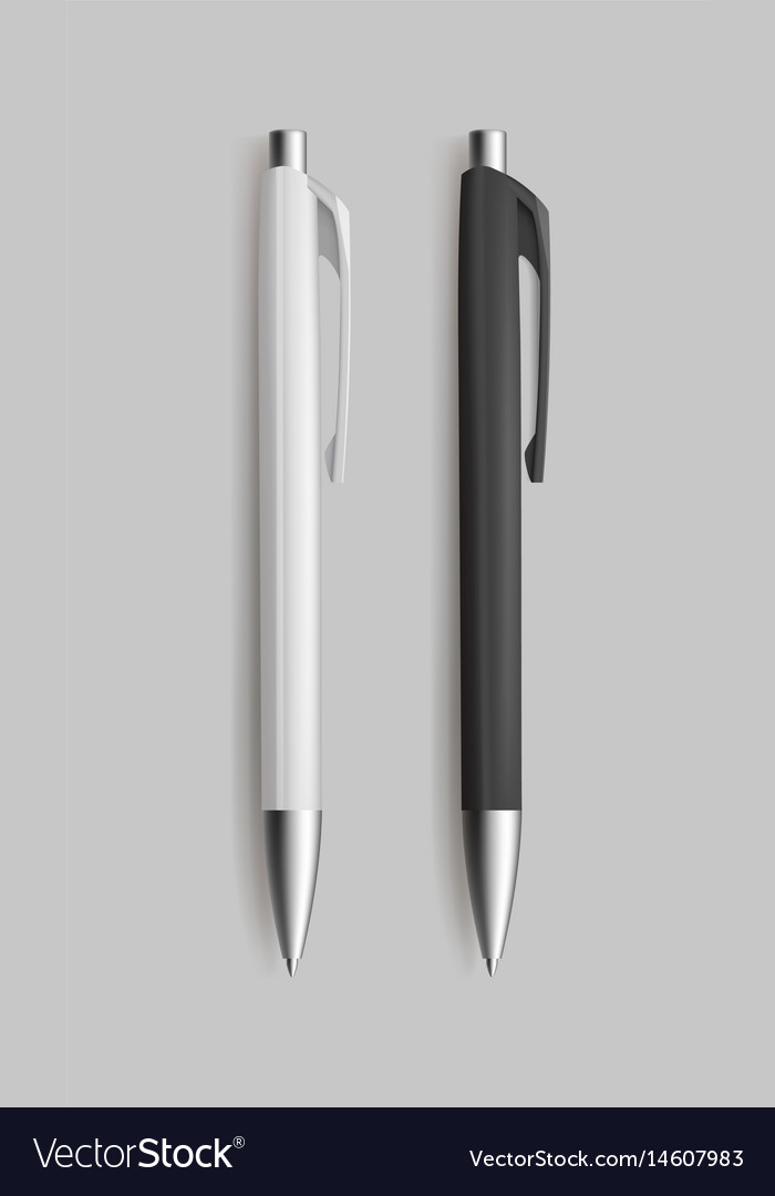 Two pen for identy design