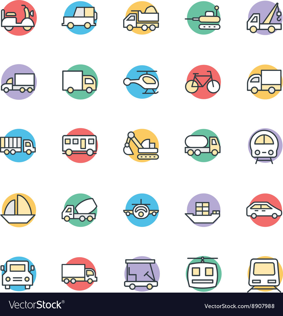 Transport Cool Icons 2