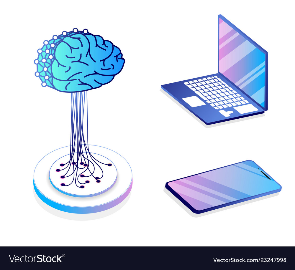 Flat isometric concept of artificial intelligence