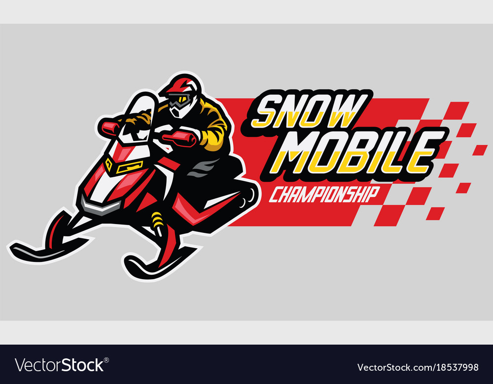 Snow mobile championship design
