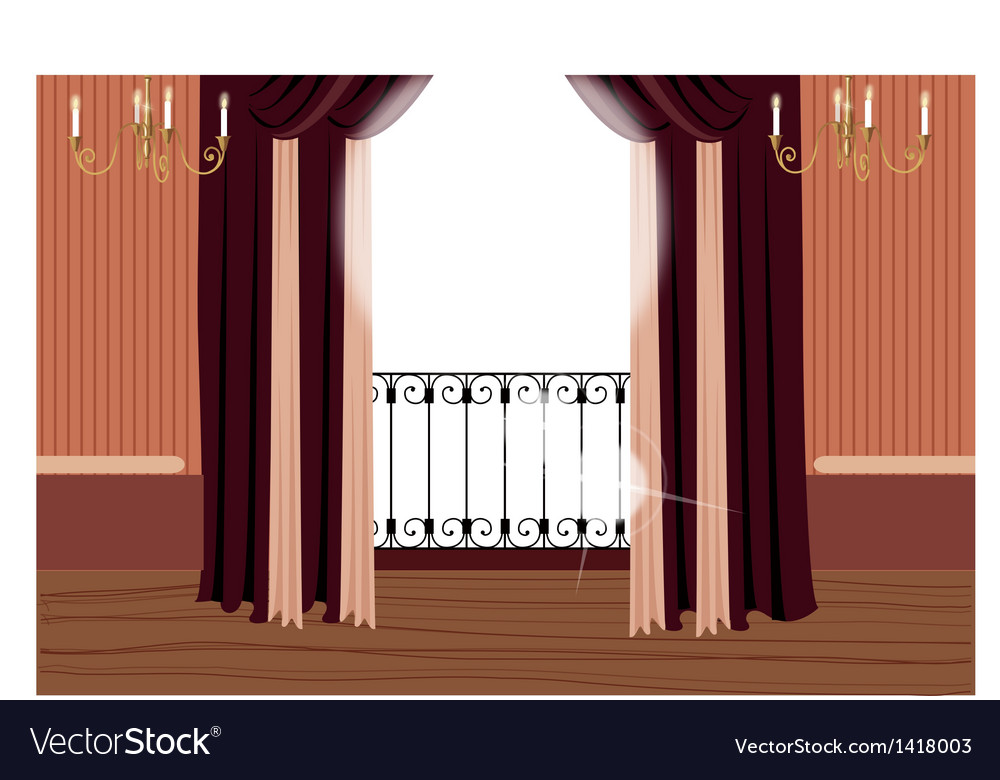 Elegant Balcony Interior