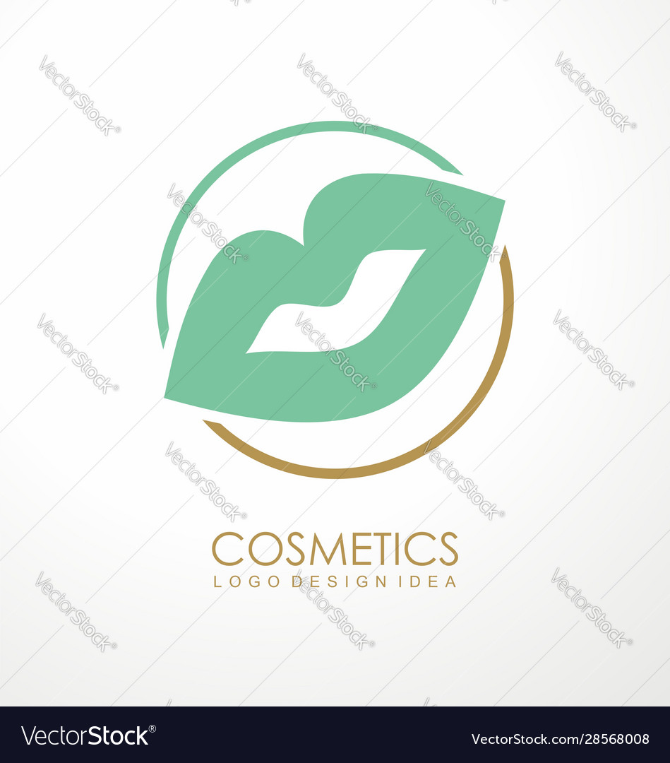 Fashion or makeup products logo design