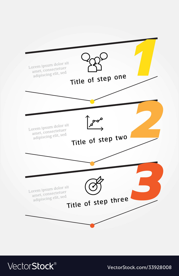 Infographic label design template with icons 3