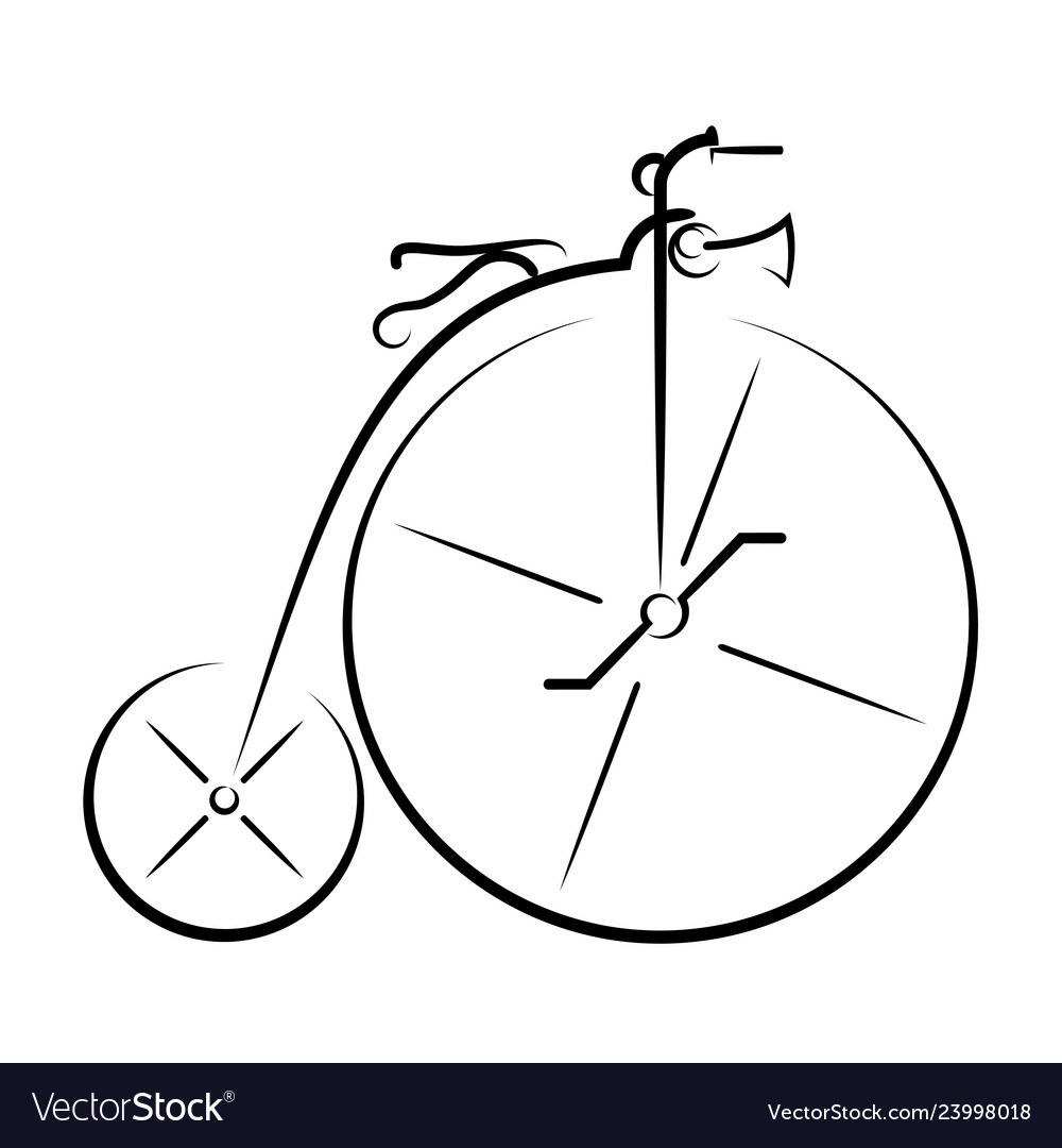 Ancient bicycle 0001