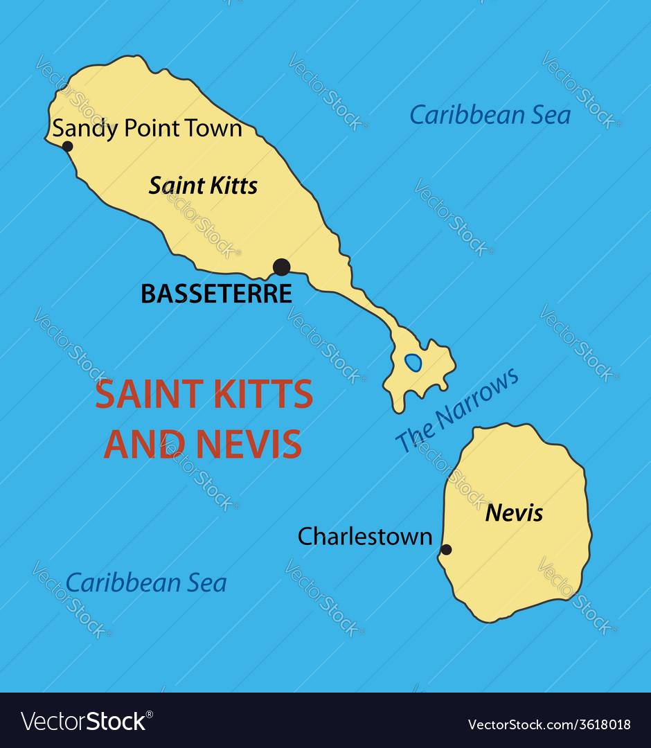 Federation of Saint Kitts and Nevis - map on ukraine map, senegal map, albania map, montenegro map, redonda map, slovenia map, anglosphere map, svalbard and jan mayen map, caribbean map, yisrael map, monaco map, tokelau map, timor-leste map, lesotho map, virgin islands map, nevis island map, south georgia and the south sandwich islands map, serbia map, nevis on world map, singapore map,