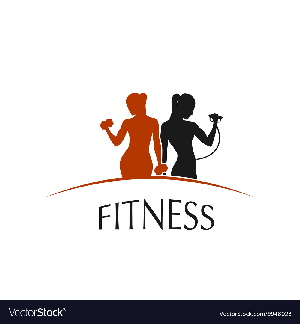 Fitness Club logo depicting women