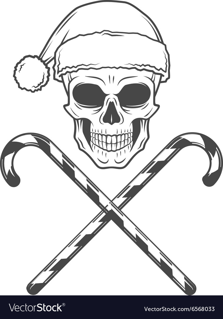 Heavy Metal Christmas.Heavy Metal Christmas With Candy Canes Design Bad