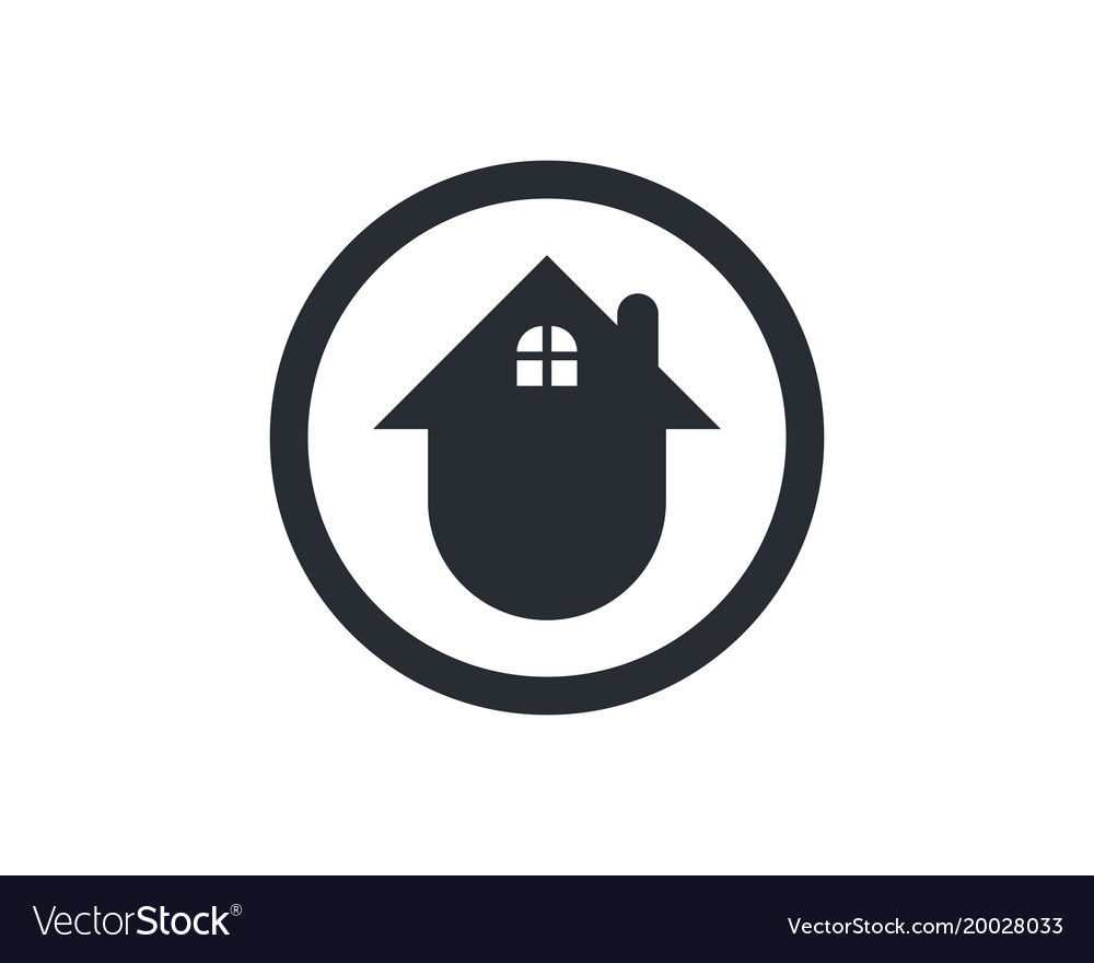 Home logo and symbols template icons app Vector Image