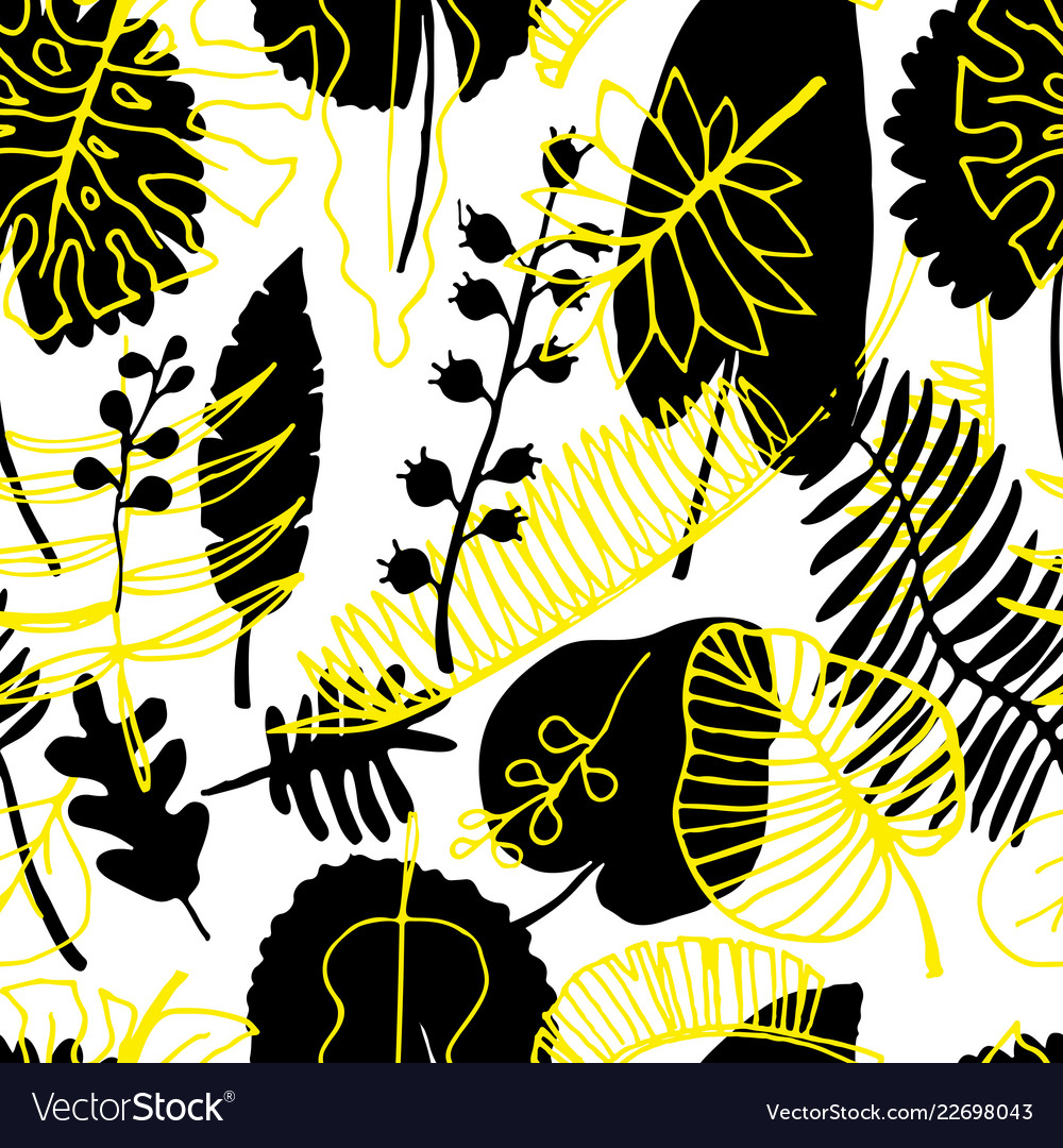 Floral seamless pattern nature bright