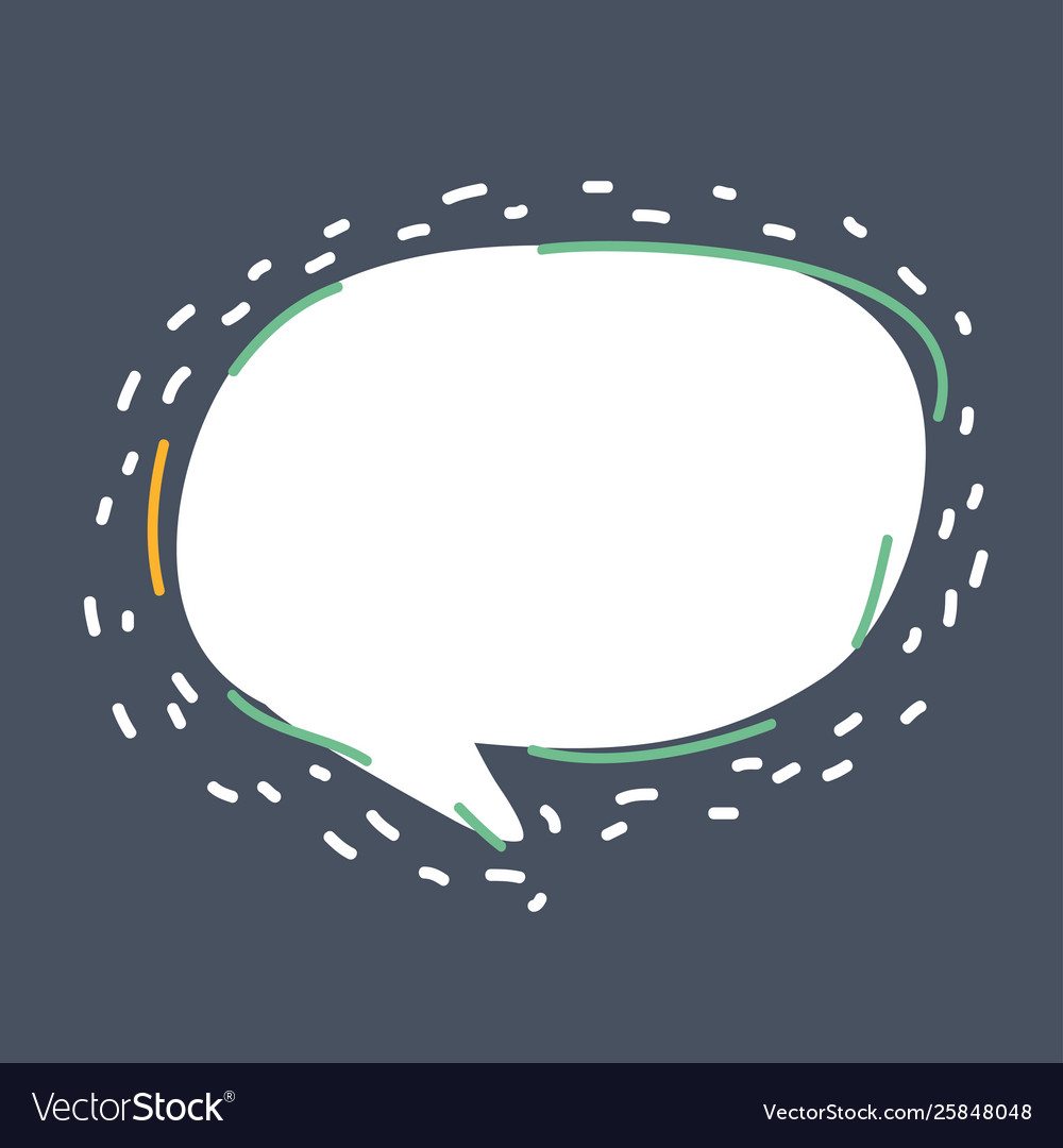 Communication chat icons speech bubble