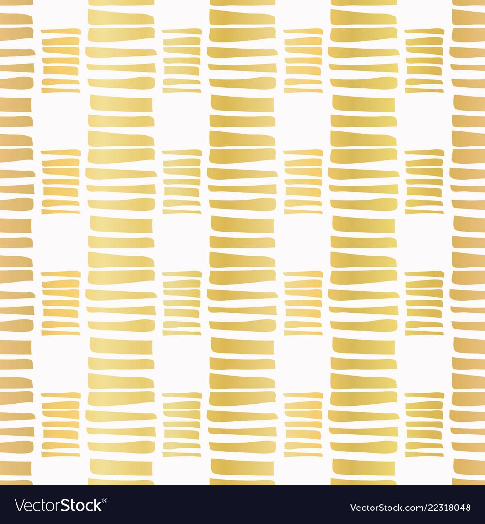 Luxe gold stripes confetti hand drawn