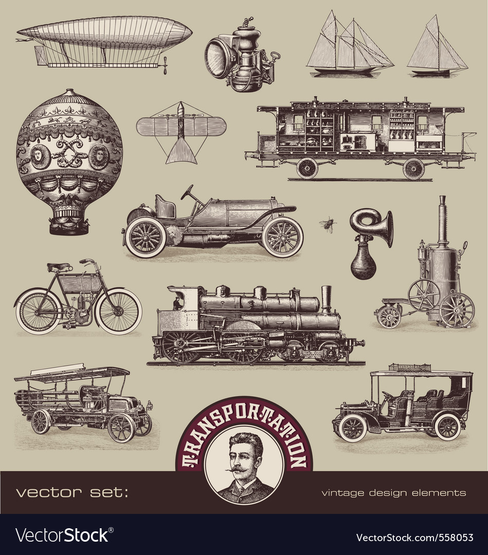Vintage means transportation