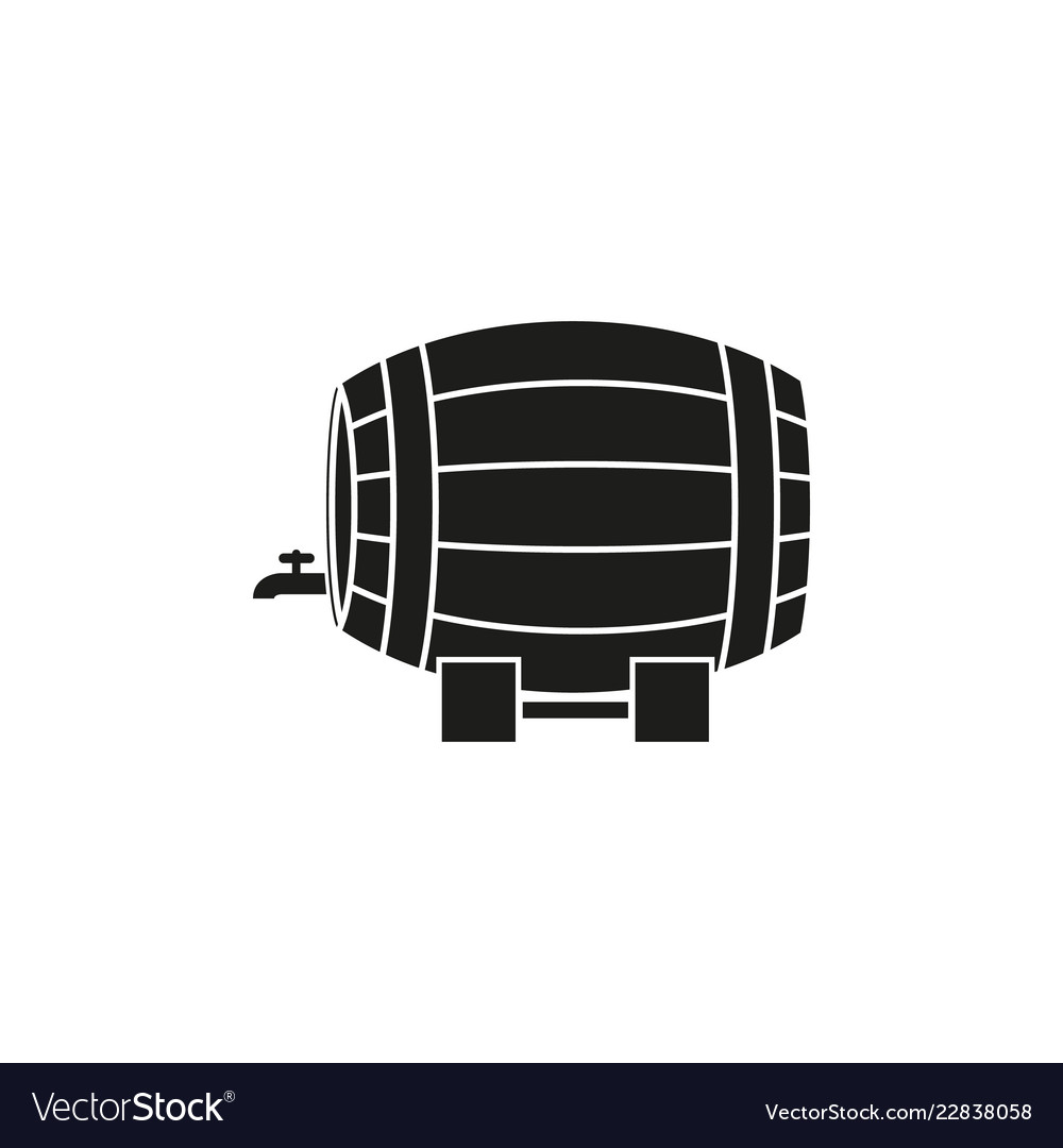 A barrel of wine or beer icon