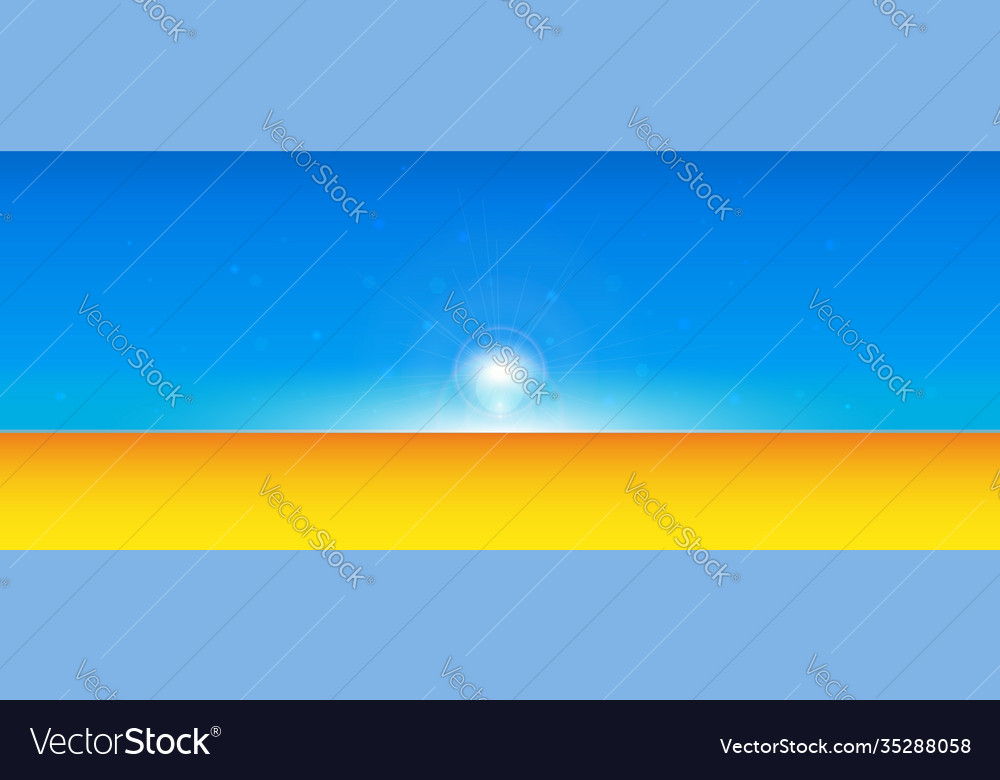 Abstract summer time background with divide line