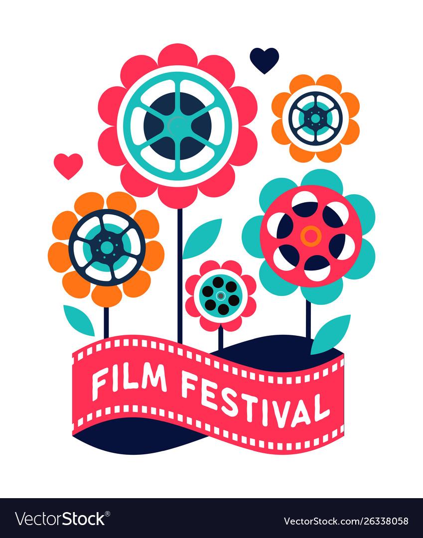 Film festival cinema and movie poster creative