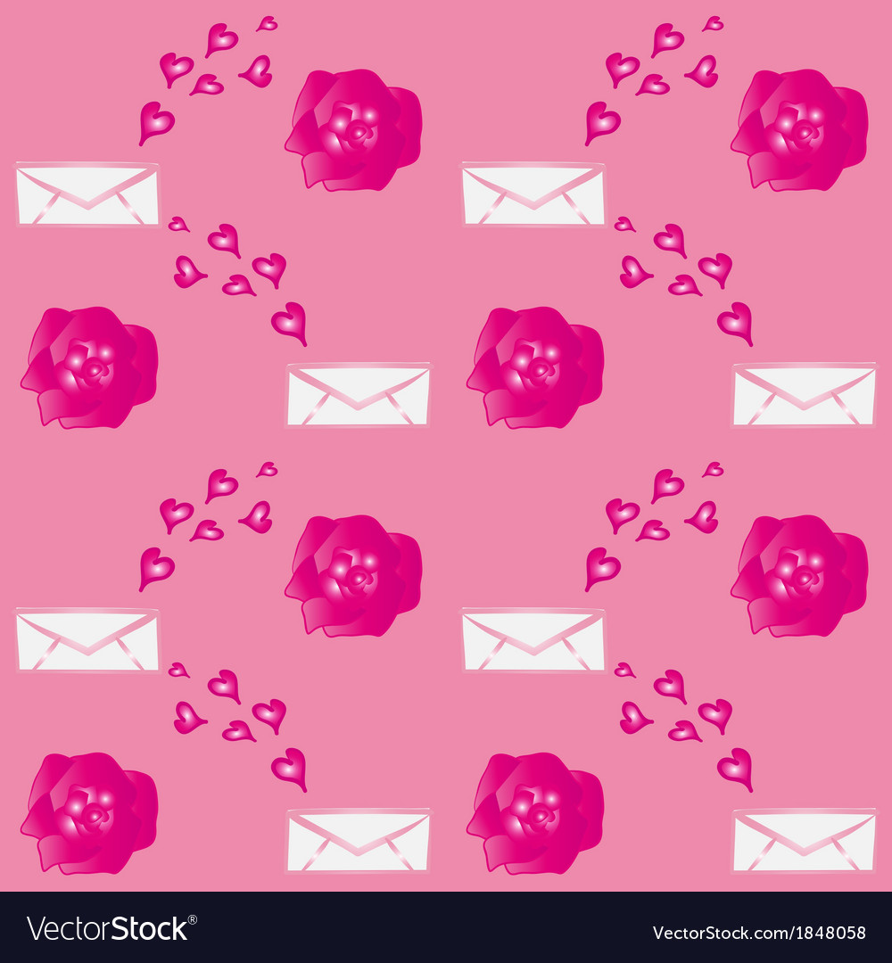 Valentine Flowers Envelopes